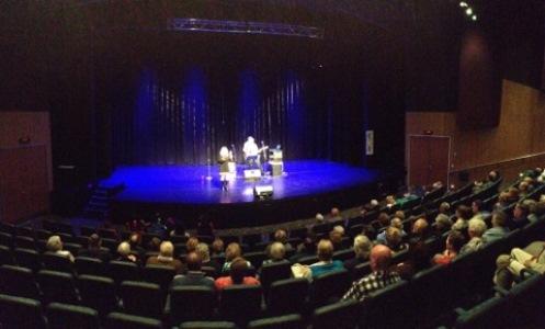 Kylie, Kim and Brian preforming at South Morang Arts Center 2013